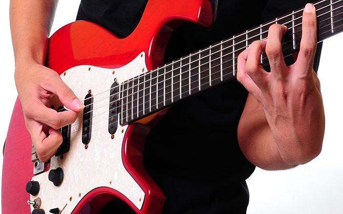 learn guitar technique